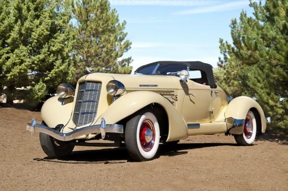 1935 Auburn 851 Supercharged Speedster