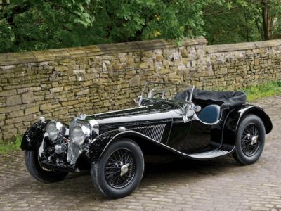 1936 SS Jaguar 100 2½-Litre Roadster