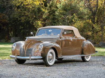 1938 Lincoln Zephyr Convertible