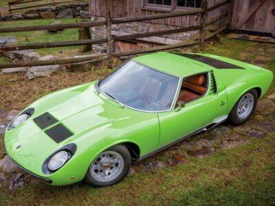 1969 Lamborghini Miura P400S 'SV Specification'