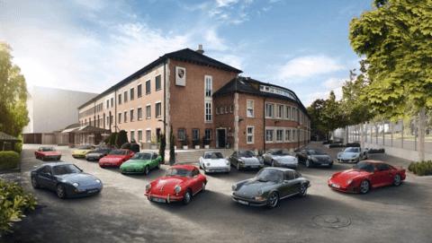 The Porsche Monterey Classic
