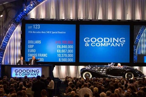 Gooding & Company's Pebble Beach Auction