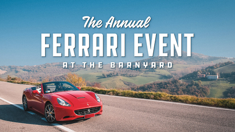 Barnyard Ferrari Owners Club Gathering